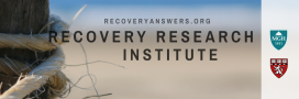Recovdery Research Institute banner